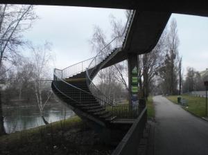 TreppeGürtelbrücke