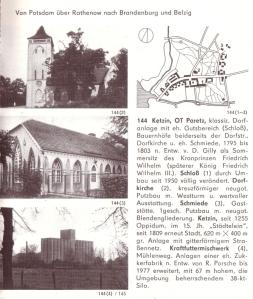 Aus Autorenkollektiv: Architekturführer DDR - Bezirk Potsdam, Berlin 1981