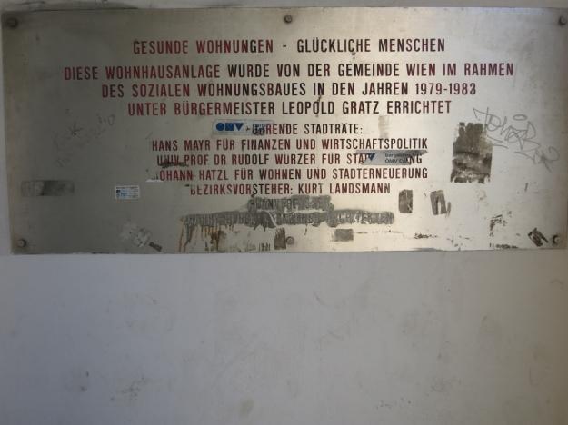Heinz Nittel-HofGesundeWohnungen-GlücklicheMenschen