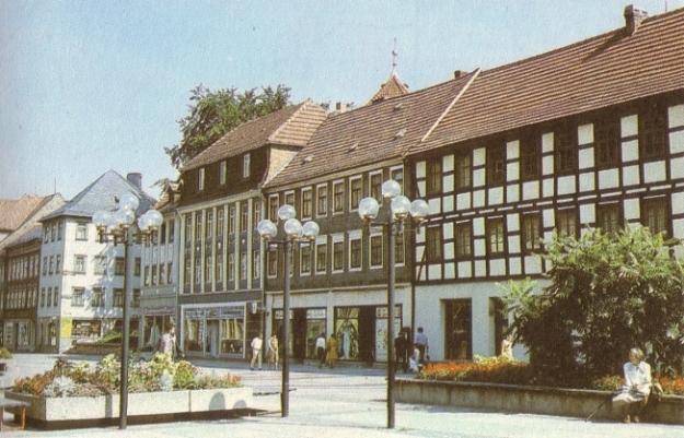 Aus Urzyniok, Horst: Tourist Wanderatlas Oberhof, Berlin/Leipzig 1986