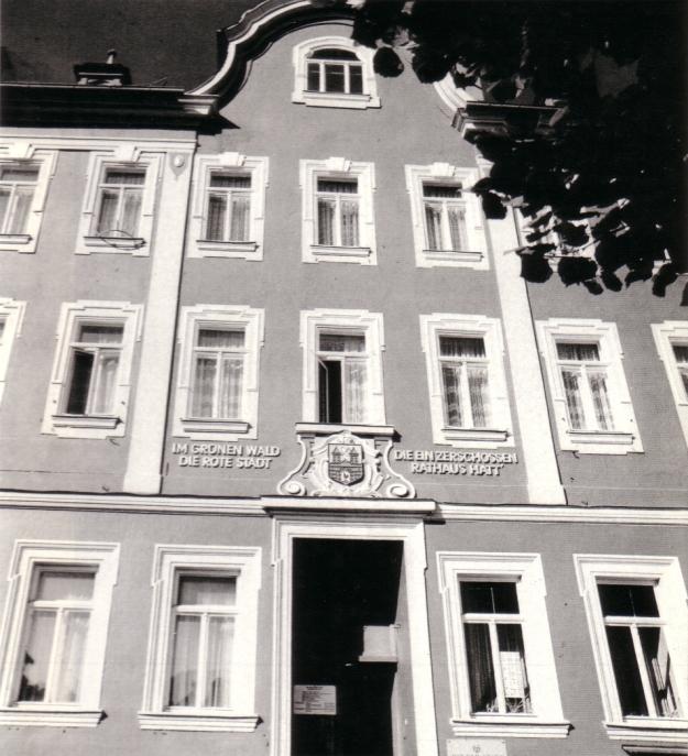 Aus Linde, Guntard/Guse, Ernst: Oberhofer Ansichten, Leipzig 1983