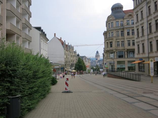 PlauenFußgängerzone