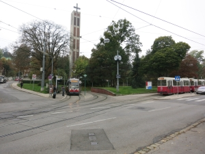 StraßenbahnhaltestellePötzleinsdorf