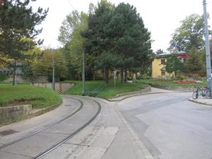 StraßenbahnhaltestellePötzleinsdorfSchloßpark