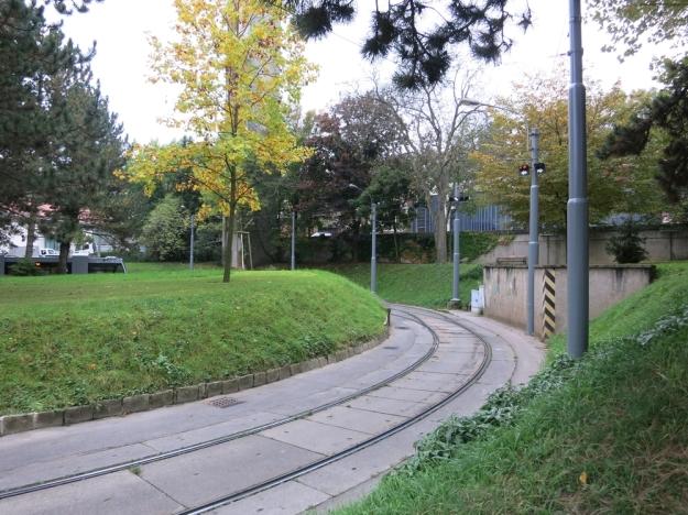StraßenbahnhaltestellePötzleinsdorfWendekreis