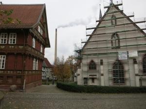 BlickLateinschuleSchornsteinAlfeld