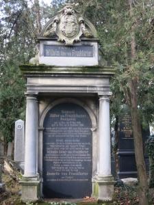 GrabRitterVonFrankfurterZentralfriedhofWien