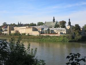KlasztorNorbertanekKrakówVonDerStadt