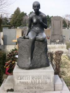 EdithRodlingVonAmannFriedhofDöbling