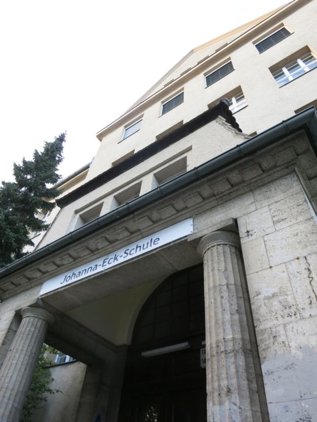 JohannaEckSchuleBerlinEingang