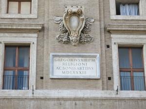 Gregor XIII. 1583 am Collegio Romano