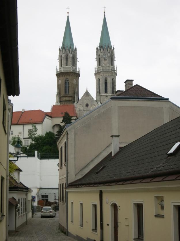 StiftKlosterneuburgBlickStadt