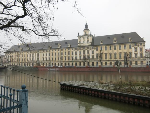 UniversitätWrocławFlußseite