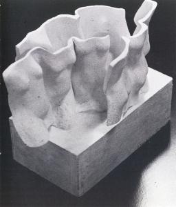 Modell aus Tidman, Yngve: Bo i gemenskap - HSB Malmö 50 år, Malmö 1975