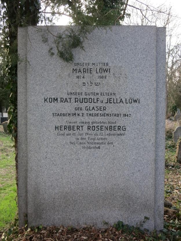 GrabLöwiRosenbergZentralfriedhofWien