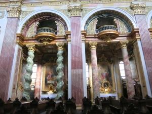 SpiralsäulenJesuitenkirche