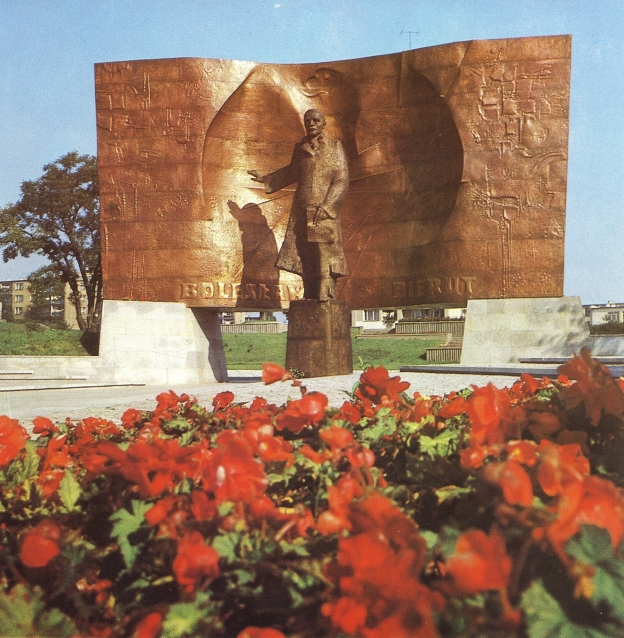 Bierut in Lublin, aus Hartwig, Edward: Lublin, Warszawa 1983