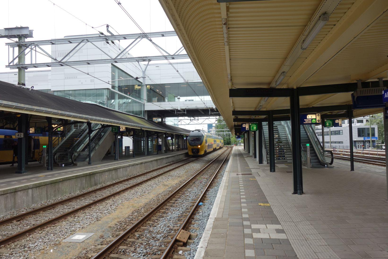 BahnhofAlkmaarBahnsteige
