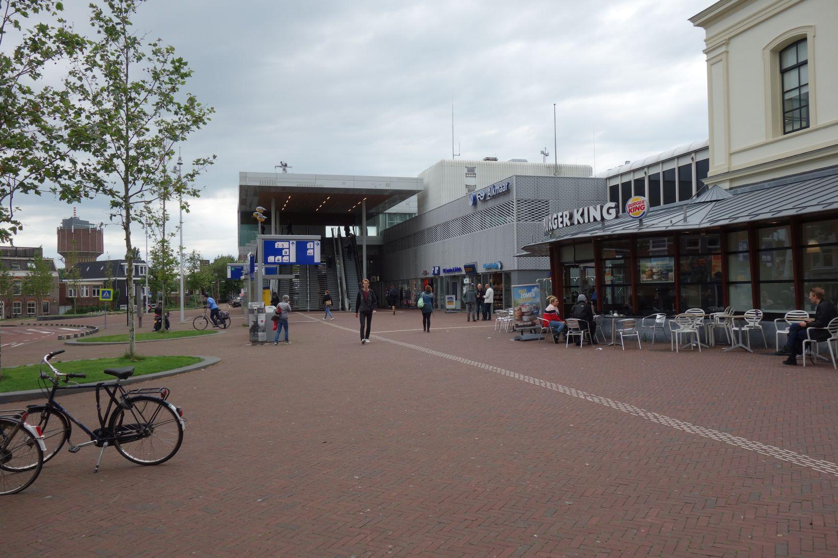 BahnhofAlkmaarStadtseite